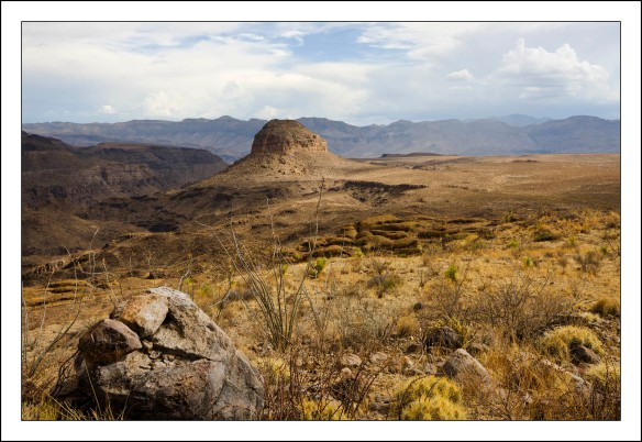 View from Guale Mesa Campsite